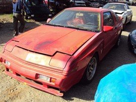 1988 MITSUBISHI CONQUEST, COLOR - RED, STK# 103497