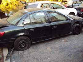 2002 SATURN 4 DOOR SEDAN SL1 MODEL 1.9L SOHC AT FWD COLOR GREEN 149870