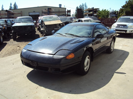 1992 DODGE STEALTH BASE MODEL CPE 3.0L SOHC MT FWD COLOR BLACK STK 133628