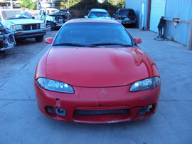 1999 MITSUBISHI ECLIPSE COUPE GS MODEL 2.0L DOHC NON TURBO MT FWD COLOR RED STK 133603