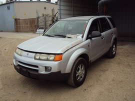 2002 SATURN VUE SUV 3.0L V6 AT AWD COLOR SILVER STK 139856