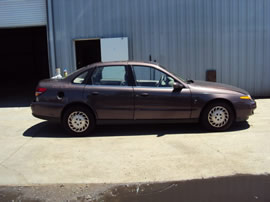 2000 SATURN 4 DOOR SEDAN L300 MODEL 3.0L V6 AT FWD COLOR PURPLE 139859