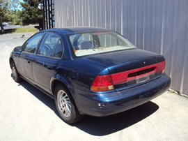 1999 SATURN 4 DOOR SEDAN SL2 MODEL 1.9L DOHC AT FWD COLOR BLUE 139862