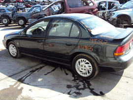 1999 SATURN 4 DOOR SEDAN SL2 MODEL 1.9L DOHC AT FWD COLOR GREEN 149875