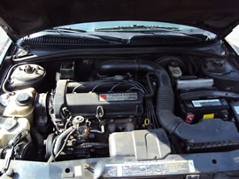 2000 SATURN SL2 MODEL 4 DOOR SEDAN 1.9L DOHC AT COLOR PURPLE 139865