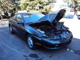 1997 SATURN 2 DOOR COUPE SC2 MODEL 1.9L DOHC AT FWD COLOR GREEN 139867