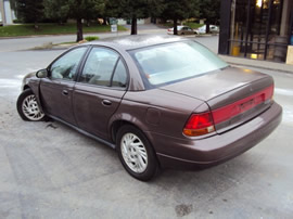 1998 SATURN SL2, 4 CYL , AUTOMATIC,  STK# 093466