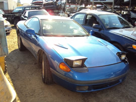 1991 DODGE STEALTH BASE MODEL 2 DOOR COUPE 3.0L SOHC MT FWD COLOR BLUE