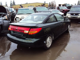 1998 SATURN SC2, 1.9L 5SPEED FWD, COLOR GREEN, STK 149890
