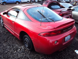 1997 MITSUBSHI ECLIPSE RS , 4CYL , 5 SPEED TRANSMISSION , STK # 103479