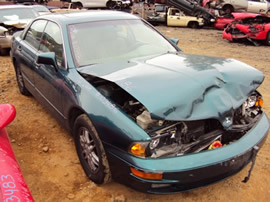 2002 MITSUBISHI DIAMANTE, V6 , AUTOMATIC TRANSMISSION , COLOR - GREEN , STK # 103486