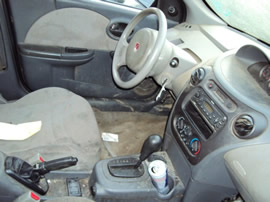 2003 SATURN ION 4CYL , AUTOMATIC TRANSMISSION , COLOR SILVER,  STK # 109765