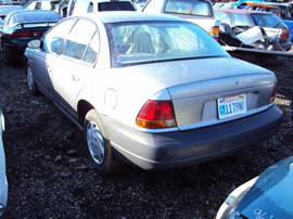 1999 SATURN SL1 COLOR-SILVER STK#109768