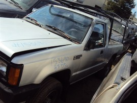 1987 DODGE RAM D 50, 2.6L 5SPEED 4WD, COLOR SILVER, STK 153690