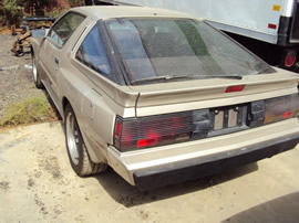 1987 MITSUBISHI CONQUEST COLOR GRAY STK#103516