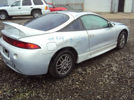 1999 MITSUBISHI ECLIPSE, AUTOMATIC TRANSMISSION, COLOR SILVER, STK # 113546