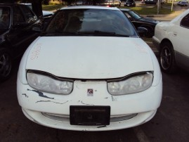 2002 SATURN SC1, 1.9L 5SPEED 3DR, COLOR WHITE, STK 159895