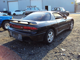1993 MITSUBISHI 3000 SL MODEL, 3.0L, DOHC N-T, MANUAL TRANSMISSION, FWD,COLOR BLACK, STK#113558