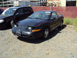 1996 SATURN SC2 MODEL COUPE 1.9L DOHC AT COLOR BLACK STK# 119804