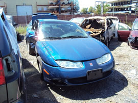 2002 SATURN SC2 COUPE 1.9L DOHC AT COLOR BLUE STK 119814