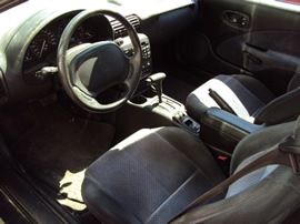 1997 SATURN COUPE SC2 MODEL 1.9L DOHC AT COLOR GREEN STK 119815