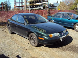 2000 SATURN SL2 MODEL 4 DOOR SEDAN 1.9L DOHC AT FWD COLOR GREEN STK 129825
