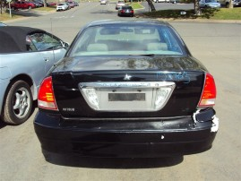 2002 MITSUBISHI DIAMANTE LS, 3.5L AUTO , COLOR BLACK, STK 153703