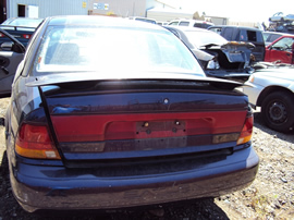 1996 SATURN SL2 MODEL 4 DOOR SEDAN 1.9L DOHC MT FWD COLOR PURPLE STK 129835