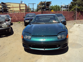 1995 MITSUBISHI 3000 SL MODEL CPE 3.0L DOHC NON TURBO MT FWD COLOR GREEN STK 123600