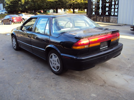 1993 SATURN SL2 MODEL 4 DOOR SEDAN 1.9L DOHC MT FWD COLOR BLUE STK 139847