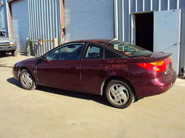 2002 SATURN SC2 MODEL 3 DOOR CPE 1.9L DOHC AT FWD COLOR MAROON STK 139850