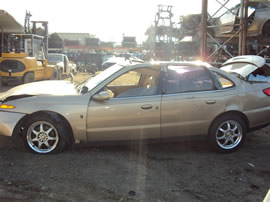 2000 SATURN SL2 4DR, 3.0L AUTO,COLOR GOLD, STK 149887