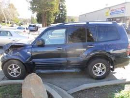 2002 MITSUBISHI MONTERO LIMITED BLUE 3.5L AT 4WD 163739
