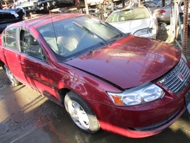 2006 SATURN ION 2 PURPLE 4DR 2.2L AT 169916