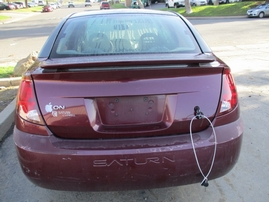 2003 SATURN ION 3 PURPLE 4 DR 2.2L MT 169915