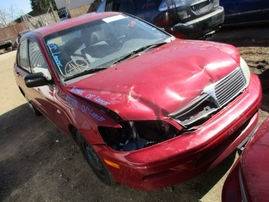 2002 MITSUBISHI LANCER ES BURGUNDY 2.0L AT 173816