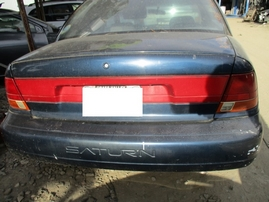1998 SATURN SL2 NAVY BLUE 4DR 1.9L AT 169918