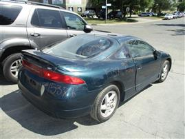 1995 MITSUBISHI ECLIPSE GS. 2.0L 5SPEED HTBK, COLOR GREEN, STK 153716