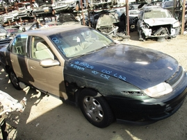 2000 SATURN SL2 GOLD 3.0L AT 2WD 159904