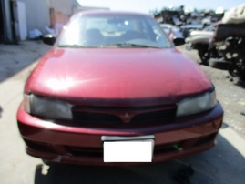2000 MITSUBISHI MIRAGE DE BURGUNDY 1.8L AT 163759