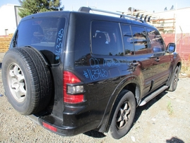 2002 MITSUBISHI MONTERO LIMITED BLACK 3.5L AT 4WD 163765