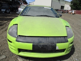 2000 MITSUBISHI ECLIPSE GT LIME GREEN 3.0L MT 163769