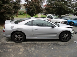 2003 MITSUBISHI ECLIPSE GT SILVER 3.0L AT 153734