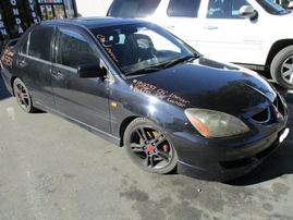 2004 MITSUBISHI LANCER RALLIART BLACK 2.4L MT 153737