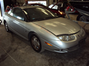 2002 SATURN COUPE 3 DOOR SC2 MODEL 1.9L DOHC AT FWD COLOR SILVER STK 139853