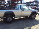 1994 MITSUBISHI PICK UP TRUCK MIGHTY MAX MODEL REGULAR CAB 3.0L V6 MT 4X4 COLOR SILVER 143658
