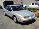 2001 SATURN SL2 MODEL 4 DOOR SEDAN 1.9L DOHC AT FWD COLOR SILVER STK 139855