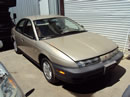 1998 SATURN 4 DOOR SEDAN SL1 MODEL 1.9L SOHC MT FWD COLOR GOLD STK Z139861