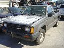 1988 DODGE D-50 TRUCK REGULAR CAB 2.0L MT 5 SPEED 2WD COLOR GRAY