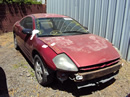2000 MITSUBISHI ECLIPSE 2 DOOR COUPE 2.4L AT FWD COLOR MAROON STK 123593